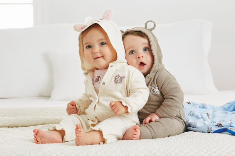 two childrens
